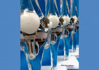 microport - clear knee models