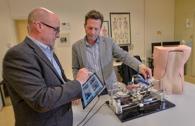 Poised for 'a big win': Holland firm develops cheaper, time-saving spine surgical training model
